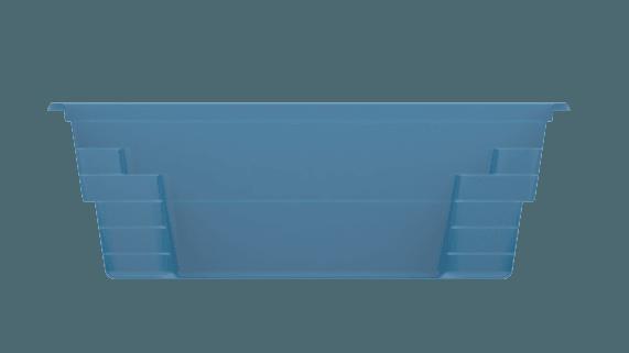 Композитный бассейн X-trainer