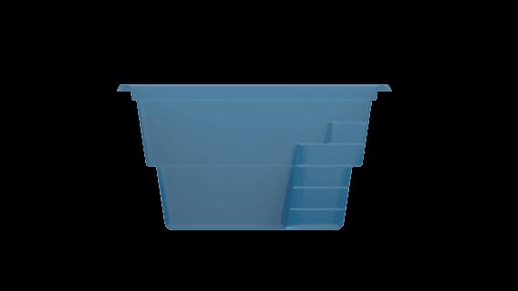Керамо-композитный бассейн XL-Fast Lane